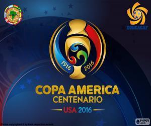 Puzzle de Logo C. América Centenario