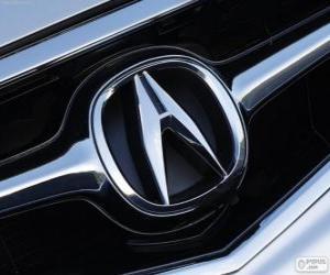 Puzzle de Logo de Acura, marca japonesa