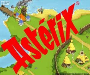 Puzzle de Logo de Asterix