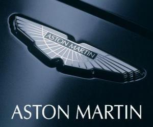 Puzzle de Logo de Aston Martin, fabricante británico de automóviles
