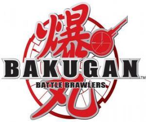 Puzzle de Logo de Bakugan