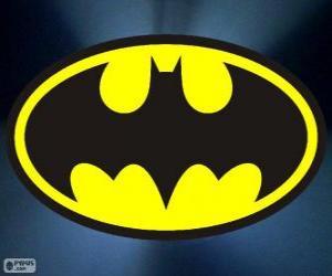 Puzzle de Logo de Batman, el murciélago