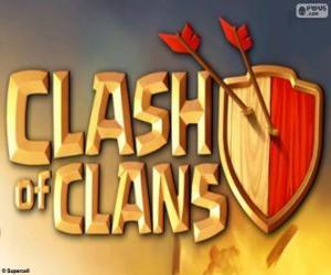 Puzzle de Logo de Clash of Clans
