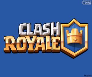 Puzzle de Logo de Clash Royale