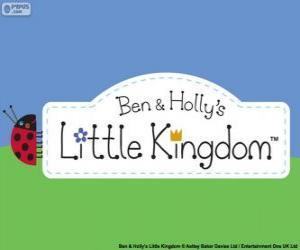 Puzzle de Logo de El Pequeño Reino de Ben y Holly