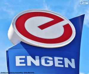 Puzzle de Logo de Engen Petroleum