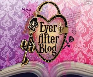 Puzzle de Logo de Ever After High