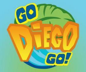 Puzzle de Logo de Go, Diego, Go!
