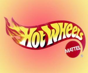 Puzzle de Logo de Hot Wheels de Mattel