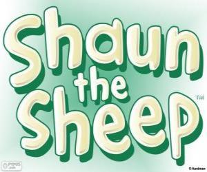 Puzzle de Logo de La oveja Shaun