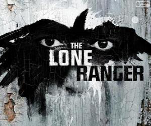 Puzzle de Logo de la película El Llanero Solitario