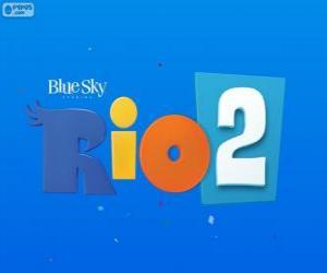 Puzzle de Logo de la película Rio 2
