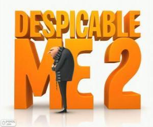 Puzzle de Logo de la película Gru 2 Mi Villano Favorito