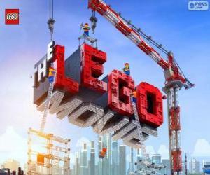 Puzzle de Logo de la película Lego