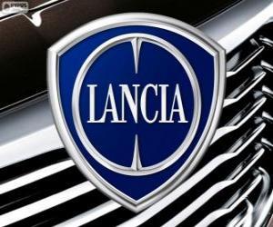 Puzzle de Logo de Lancia, marca italiana