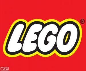 Puzzle de Logo de Lego, juego de construcción