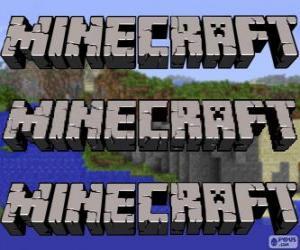 Puzzle de Logo de Minecraft