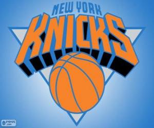 Puzzle de Logo de New York Knicks, equipo de la NBA. DivisiónAtlántico,ConferenciaEste