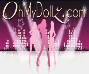 Puzzle de Logo de Oh My Dollz