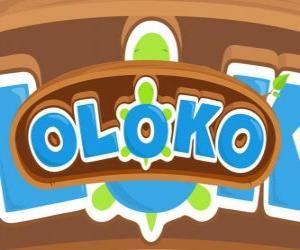 Puzzle de Logo de Oloko el juego de estrategia en línea