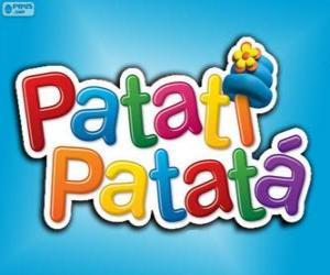 Puzzle de Logo de Patatí Patatá