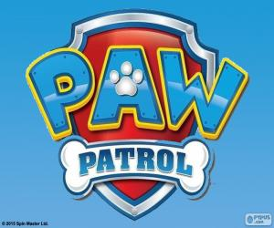 Puzzle de Logo de Paw Patrol