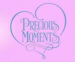 Puzzle de Logo de Preciosos Momentos - Precious Moments