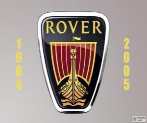 Puzzle de Logo de Rover fue un fabricante de automóviles del Reino Unido