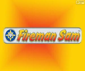 Puzzle de Logo de Sam el bombero