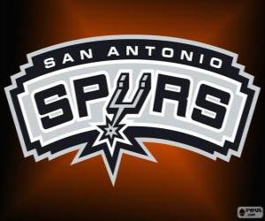 Puzzle de Logo de San Antonio Spurs, equipo de la NBA. DivisiónSuroeste,Conferencia Oeste