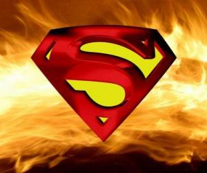 Puzzle de Logo de Superman