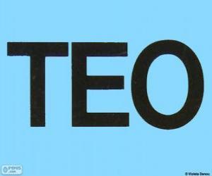 Puzzle de Logo de Teo