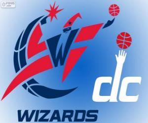 Puzzle de Logo de Washington Wizards, equipo NBA. DivisiónSureste,ConferenciaEste