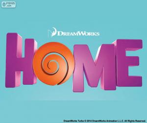 Puzzle de Logo del film Home