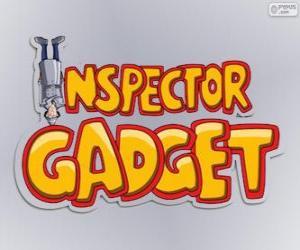 Puzzle de Logo del Inspector Gadget