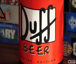 Puzzle de Logo Duff Beer