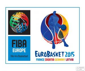 Puzzle de Logo EuroBasket 2015