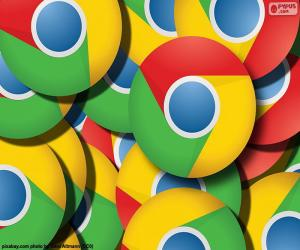 Puzzle de Logo Google Chrome