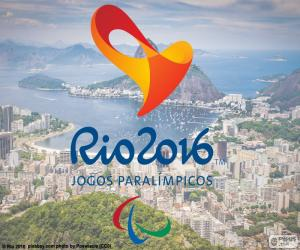 Puzzle de Logo J. Paralímpicos Rio 16