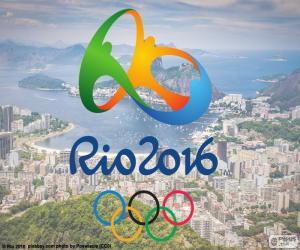 Puzzle de Logo Juegos Olímpicos Río 2016