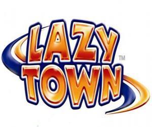Puzzle de Logo Lazy Town