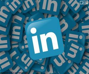 Puzzle de Logo LinkedIn