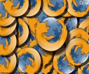 Puzzle de Logo Mozilla Firefox