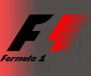 Puzzle de Logo oficial de la Fórmula 1