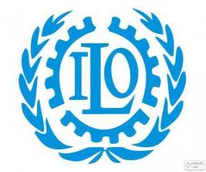 Puzzle de Logo OIT, Organización Internacional del Trabajo
