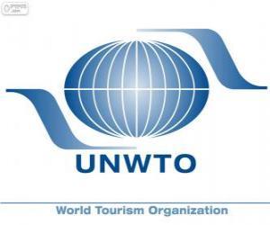 Puzzle de Logo OMT, Organización Mundial del Turismo