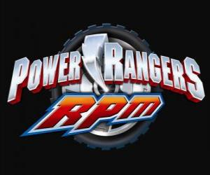 Puzzle de Logo Power Rangers RPM