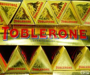 Puzzle de Logo Toblerone