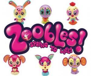 Puzzle de Logo Zoobles