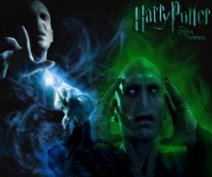 Puzzle de Lord Voldemort, es el enemigo principal de Harry Potter